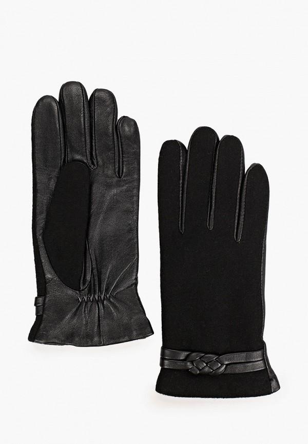 женские кожаные перчатки fabretti, серые