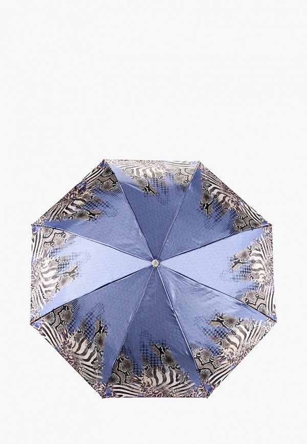 женский зонт fabretti, синий