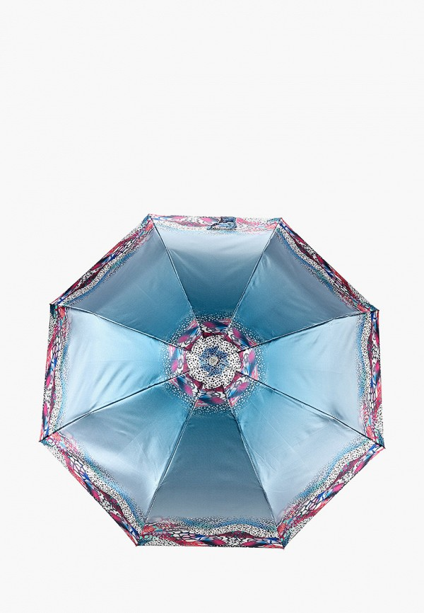 женский складные зонт fabretti, синий