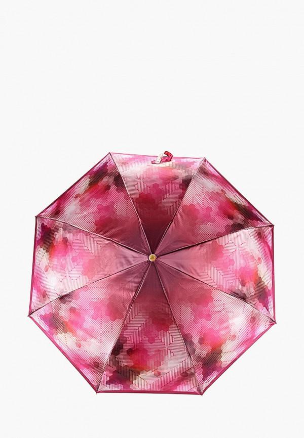 женский складные зонт fabretti, разноцветный