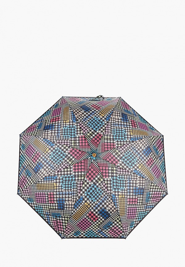 женский складные зонт fabretti, оранжевый