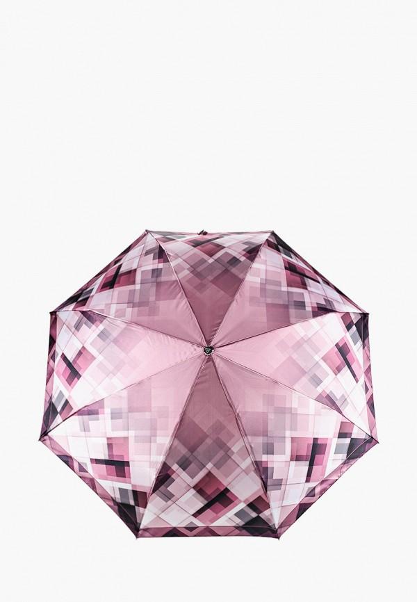 женский зонт fabretti, фиолетовый
