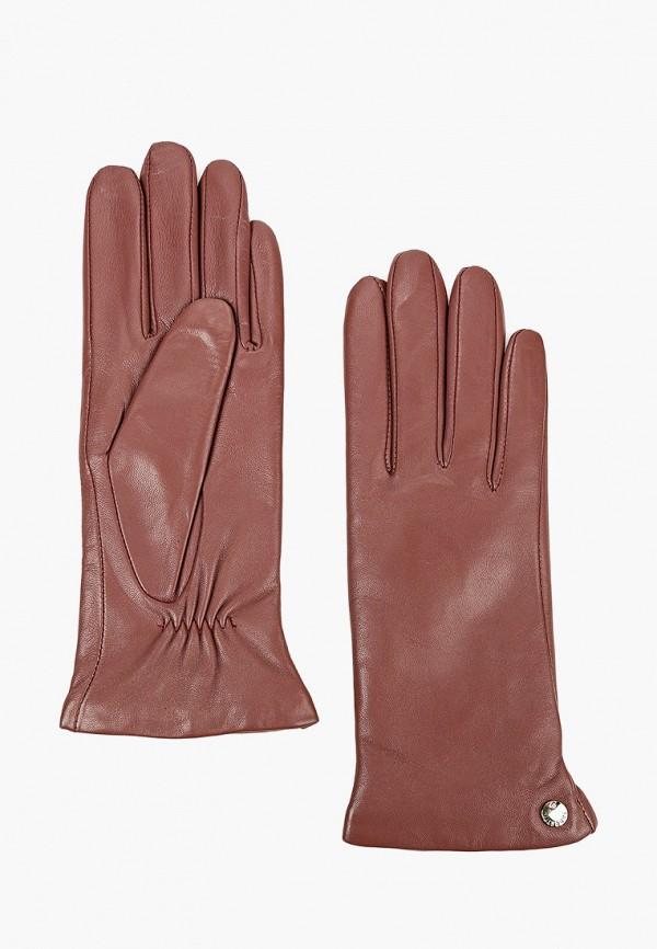 женские перчатки fabretti, розовые