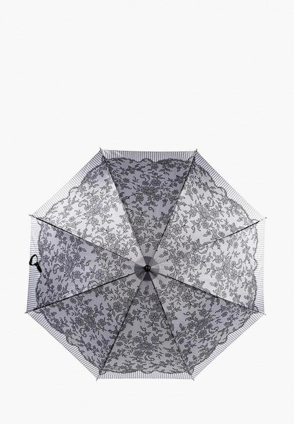 Фото - Зонт-трость Fabretti серого цвета