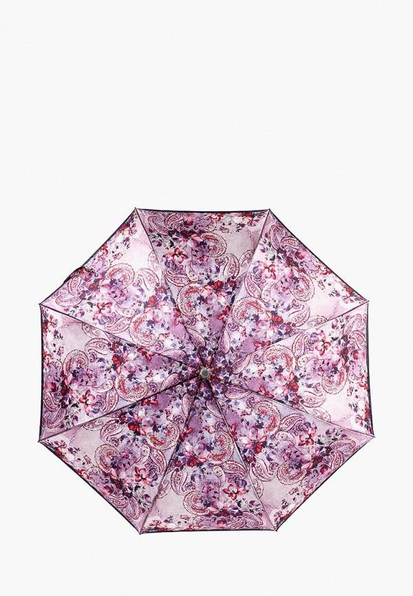 Фото - Зонт складной Fabretti розового цвета