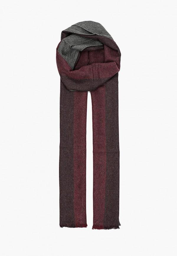 мужской шарф fabretti, бордовый