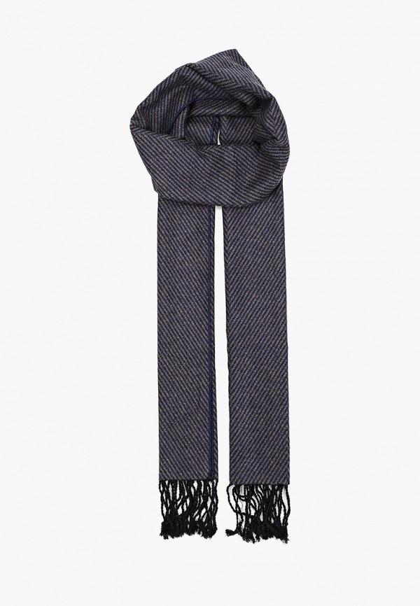 мужской шарф fabretti, синий