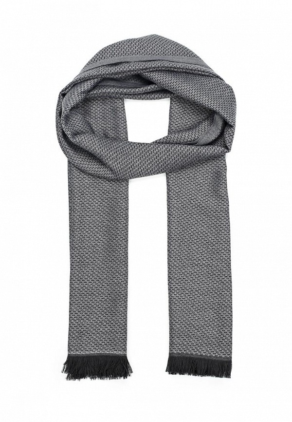 Фото - мужской шарф Fabretti серого цвета