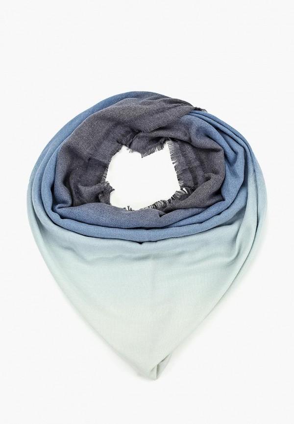 женский платок fabretti, голубой