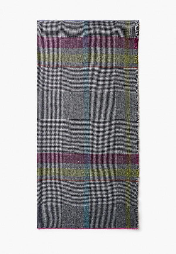 Платок Fabretti серого цвета