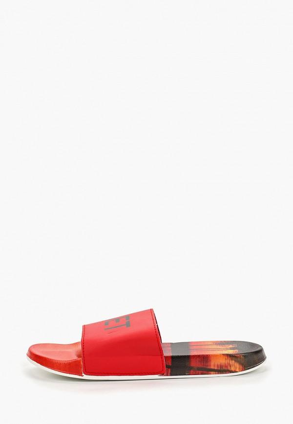 мужские сандалии fashy, красные
