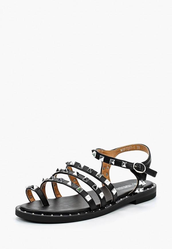 женские сандалии fashion & bella, черные