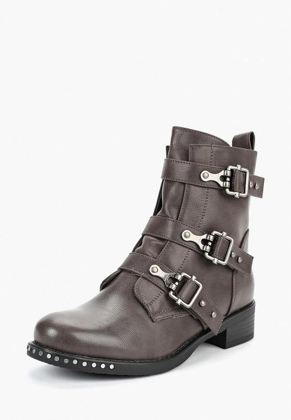 женские ботинки fashion & bella, серые