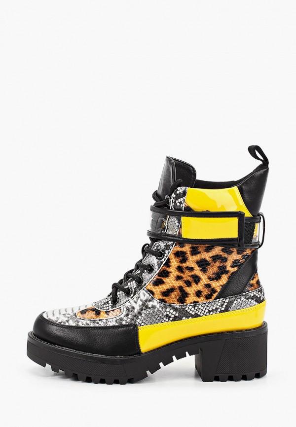 Фото - Ботинки Fashion & Bella желтого цвета