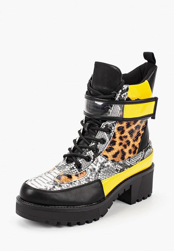Фото 2 - Ботинки Fashion & Bella желтого цвета
