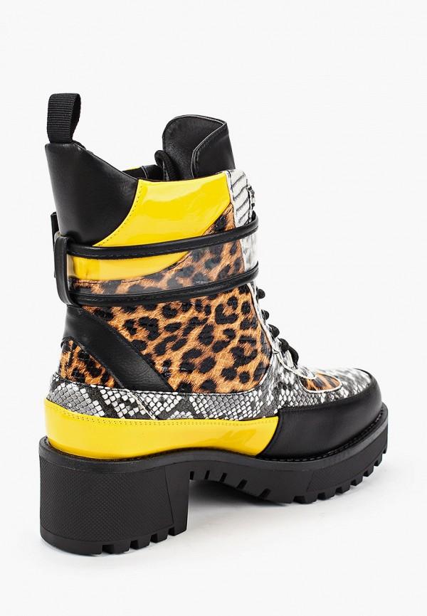 Фото 3 - Ботинки Fashion & Bella желтого цвета