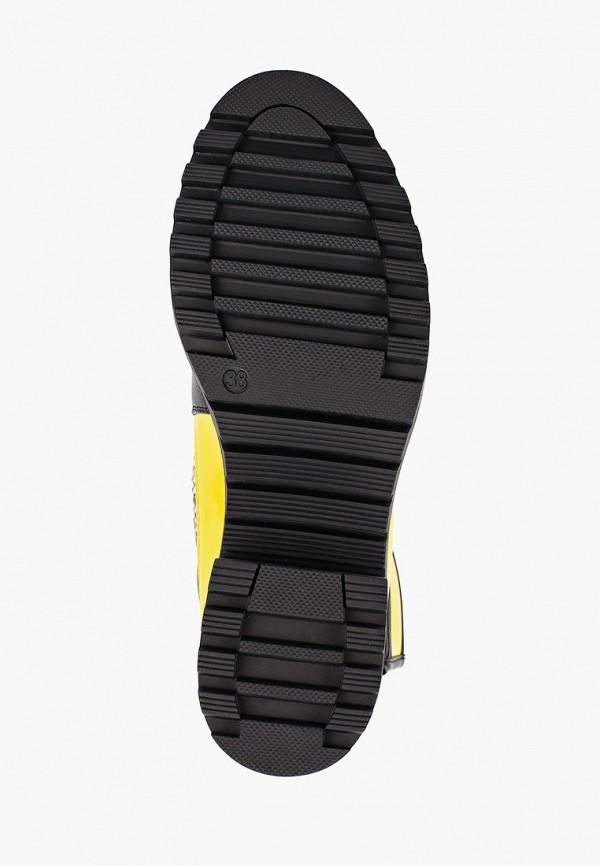 Фото 5 - Ботинки Fashion & Bella желтого цвета
