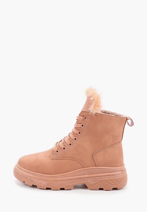 женские ботинки fashion & bella, розовые