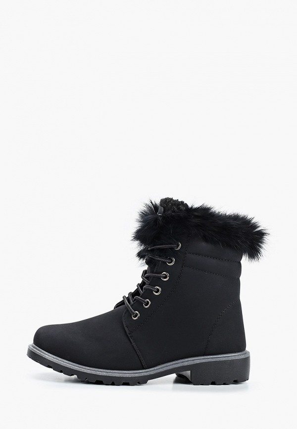 женские ботинки fashion & bella, черные