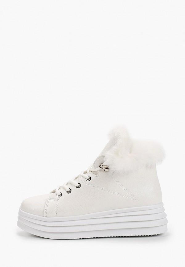 женские ботинки fashion & bella, белые