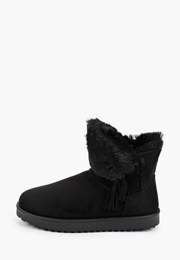 женские полусапожки fashion & bella, черные