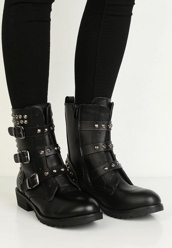 Фото 17 - Полусапоги Fashion & Bella черного цвета