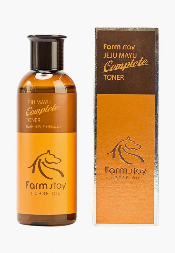 Купить Тоник для лица Farm Stay, с лошадиным маслом, 350 мл, FA035LWAVTA3, прозрачный, Осень-зима 2018/2019