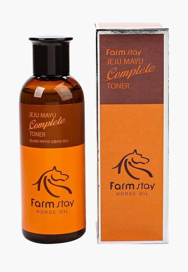 Купить Тоник для лица Farm Stay, с лошадиным маслом для сухой кожи, 200 мл, FA035LWOZM78, Осень-зима 2018/2019
