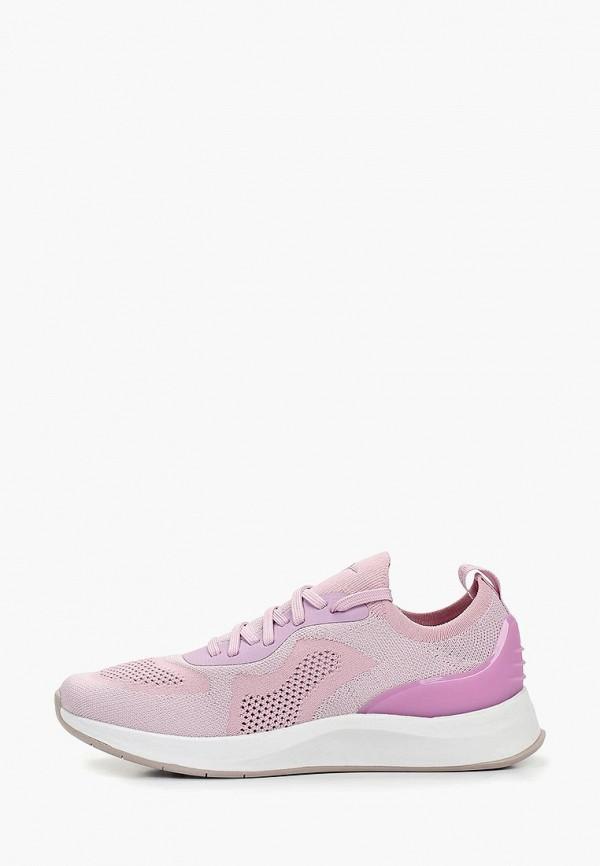 женские кроссовки fashletics by tamaris, фиолетовые