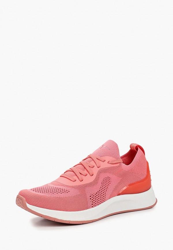 Фото 2 - женские кроссовки Fashletics by Tamaris розового цвета