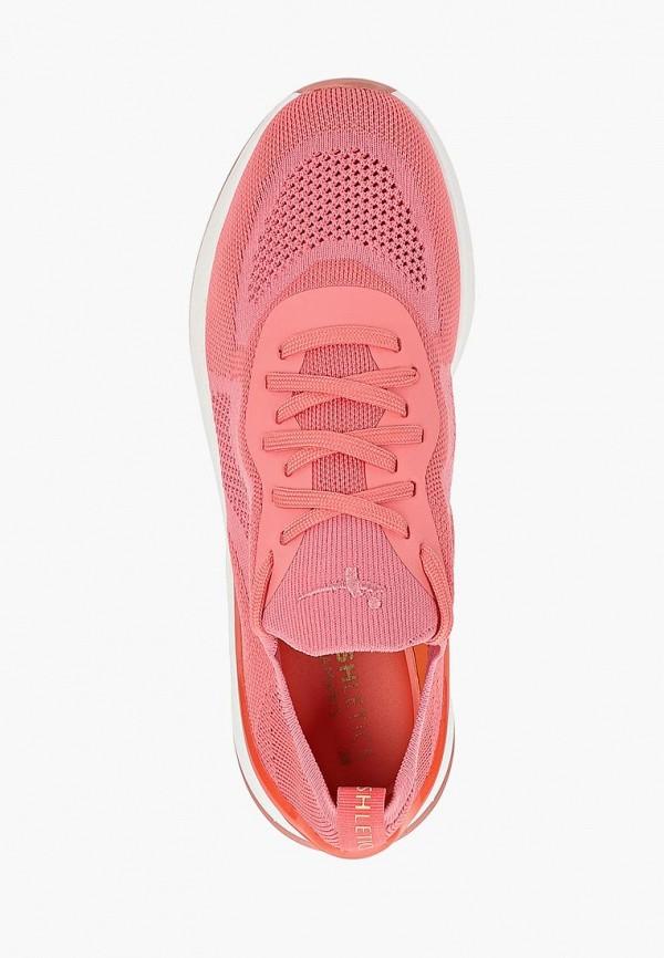 Фото 4 - женские кроссовки Fashletics by Tamaris розового цвета