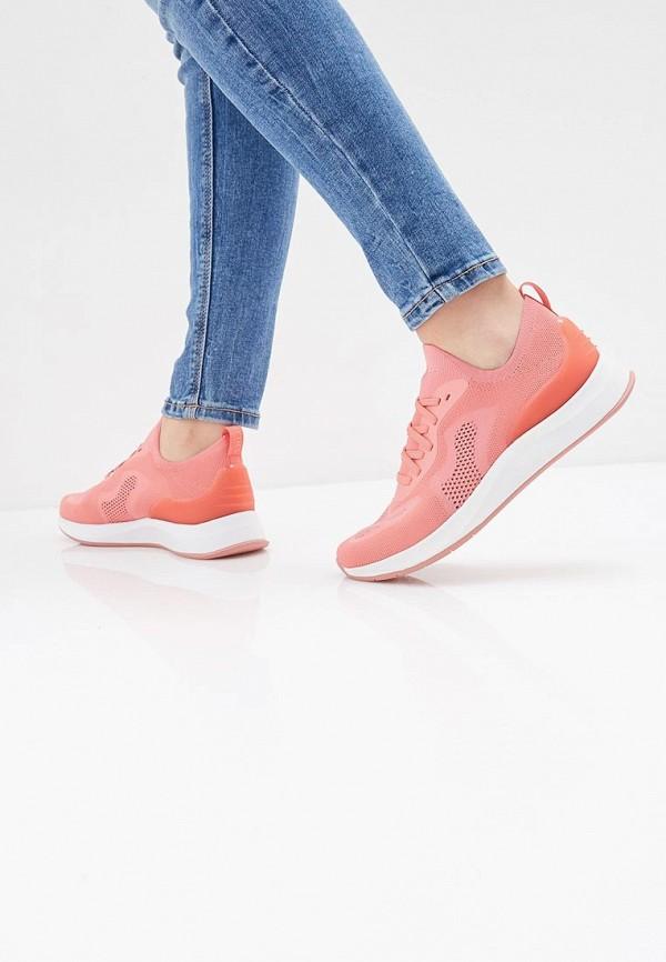 Фото 6 - женские кроссовки Fashletics by Tamaris розового цвета