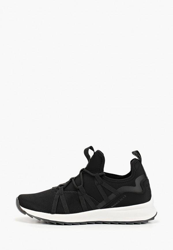 женские кроссовки fashletics by tamaris, черные