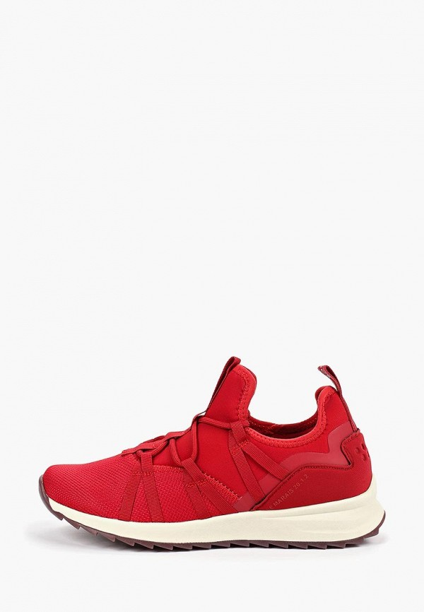 женские кроссовки fashletics by tamaris, красные