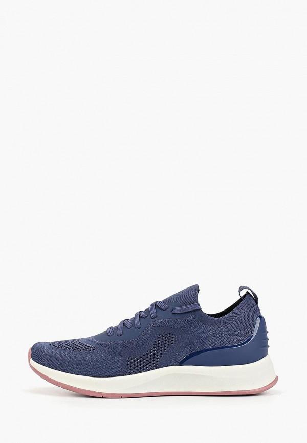 женские кроссовки fashletics by tamaris, синие