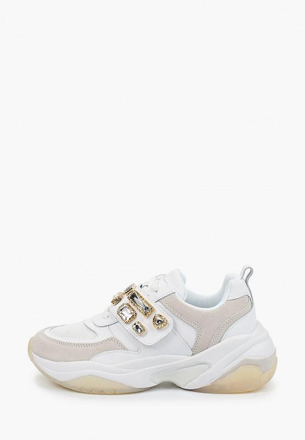 женские кроссовки fashletics by tamaris, белые