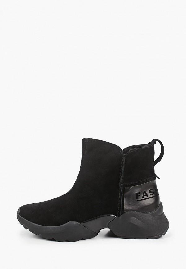 женские ботинки tamaris fashletics, черные