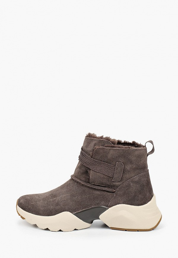женские ботинки tamaris fashletics, коричневые