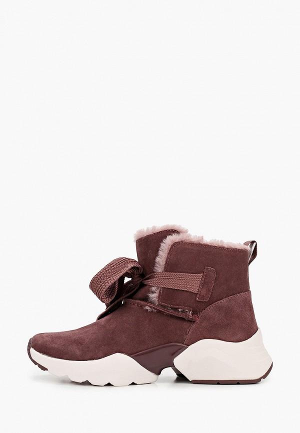 женские ботинки tamaris fashletics, фиолетовые