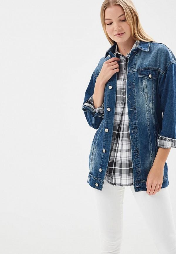 Купить Куртка джинсовая Fascinate, fa042ewawkq6, синий, Весна-лето 2018