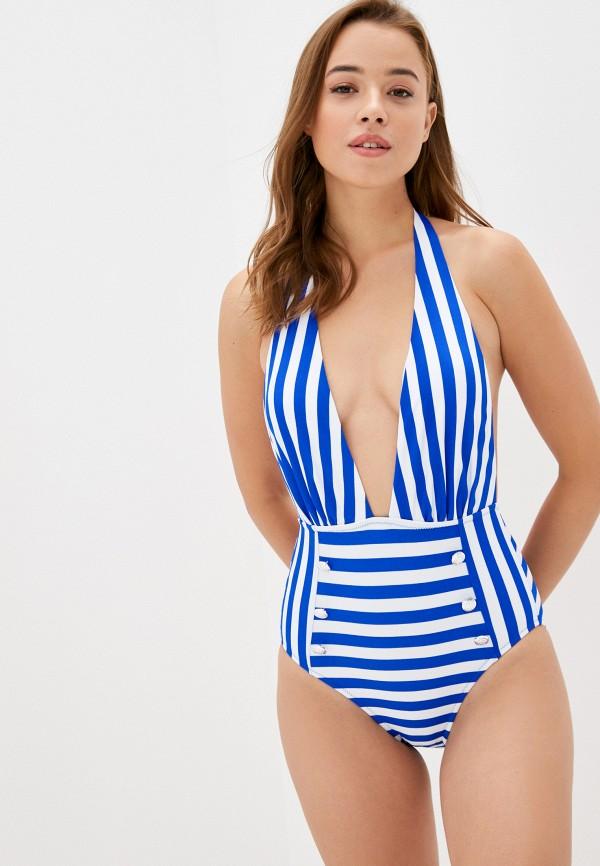 женский купальник faba, синий