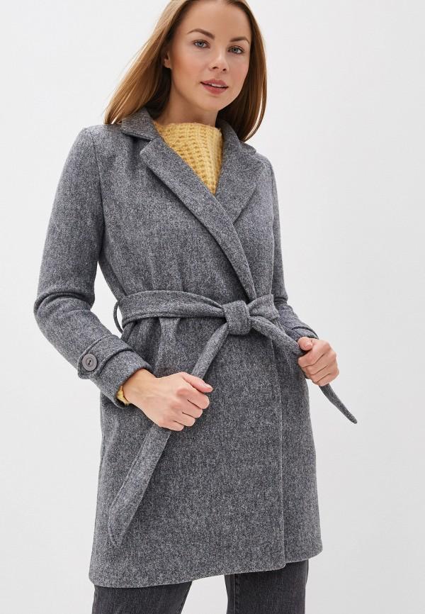 Фото - Женское пальто или плащ Fadas серого цвета