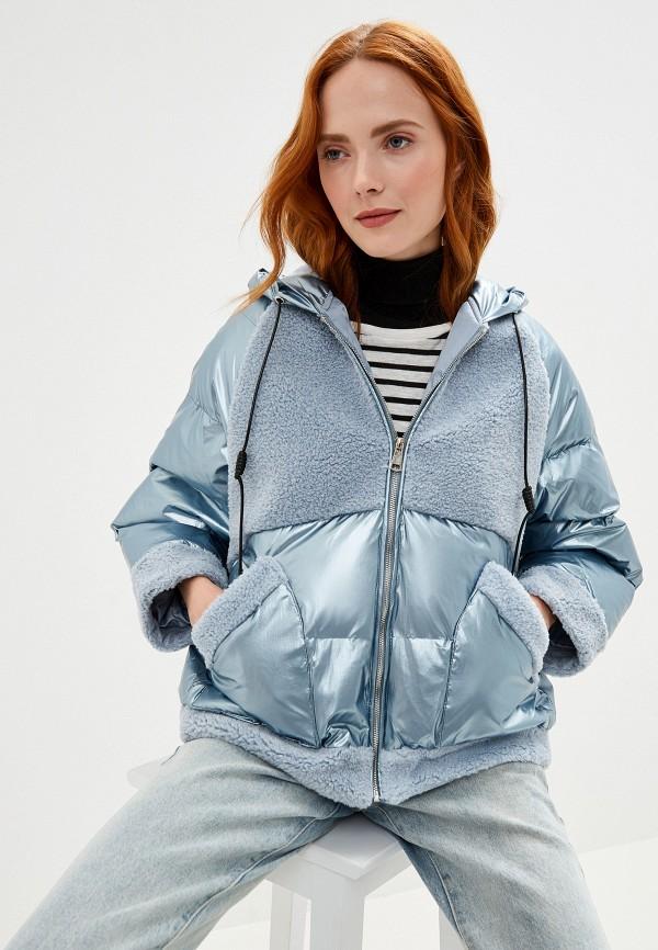 Фото - Куртку утепленная Fadas голубого цвета