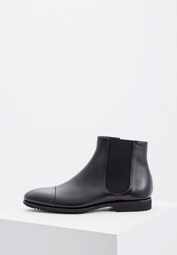 мужские ботинки fabi, черные