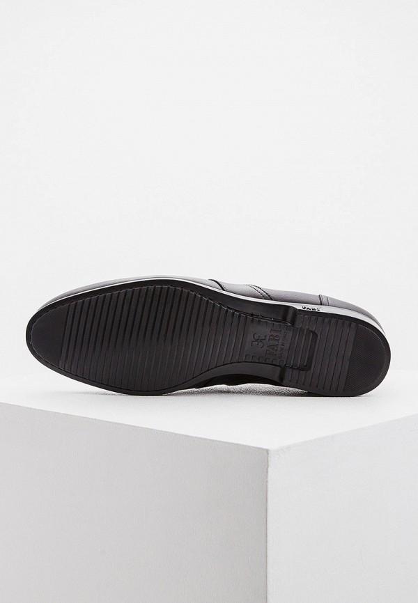Фото 3 - мужские ботинки и полуботинки Fabi черного цвета