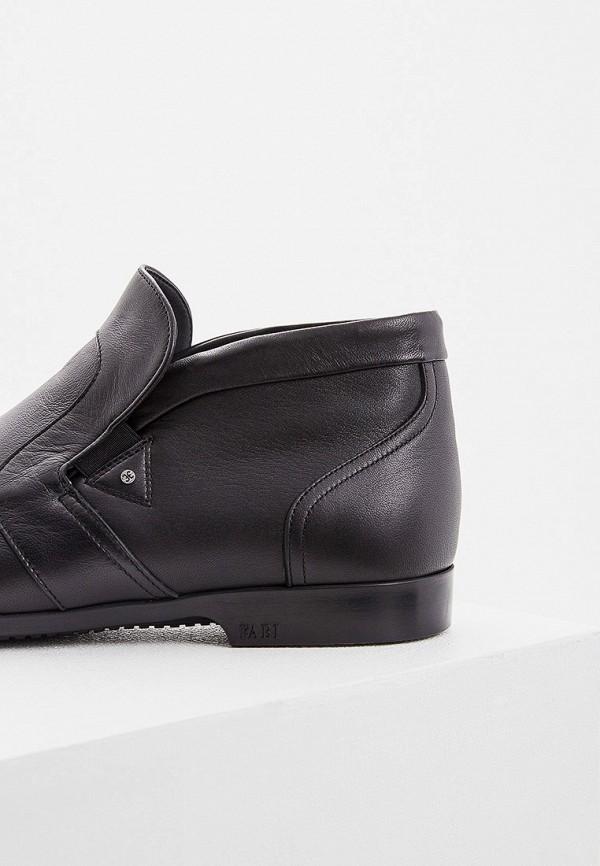 Фото 4 - мужские ботинки и полуботинки Fabi черного цвета