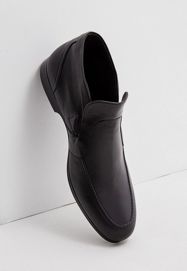 Фото 5 - мужские ботинки и полуботинки Fabi черного цвета