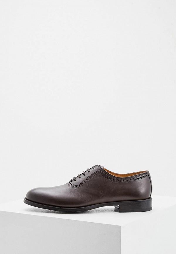 мужские туфли fabi, коричневые