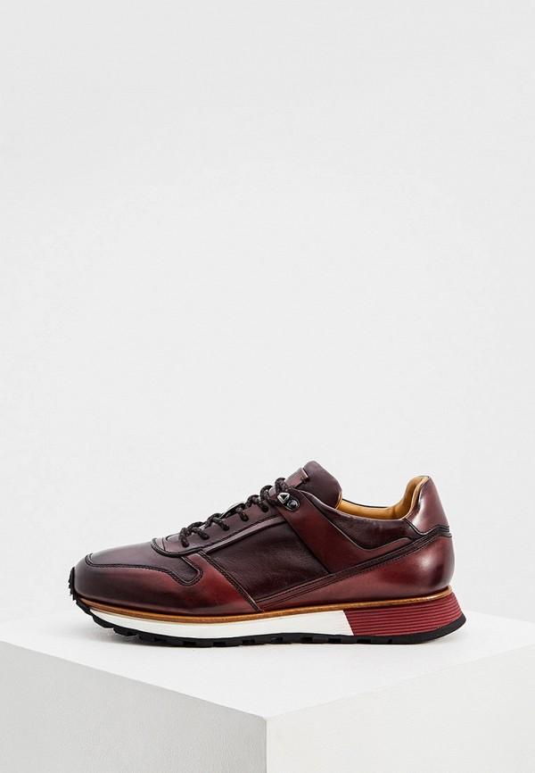 мужские кроссовки fabi, бордовые