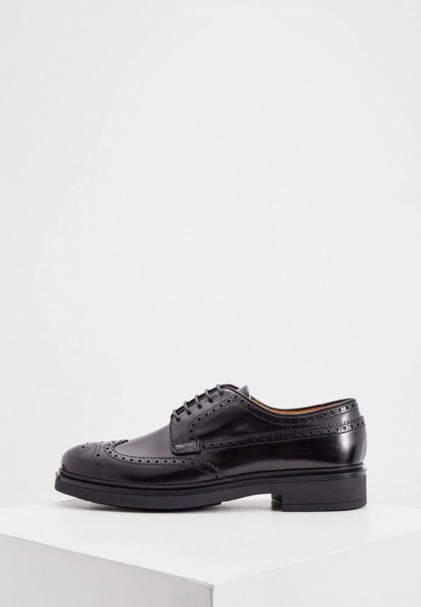мужские туфли-дерби fabi, черные